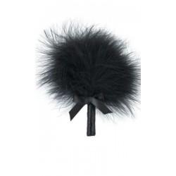 Plumeau noir 'Secrete Feather'' - Plaisirs Secrets